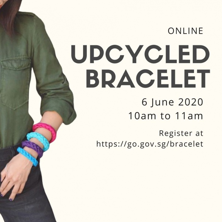 Upcycled Bracelet Online Workshop with PA PAssion WaVe