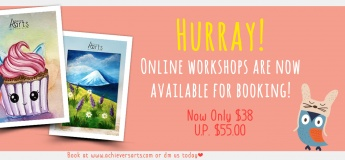 Achievers Arts Online Workshops