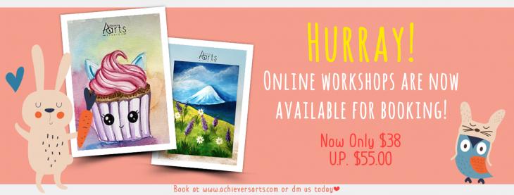 Achievers Arts Online Workshops