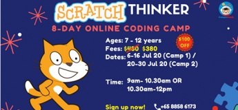 Summer 2020 School Holidays (8-Day Camp) with Computhink