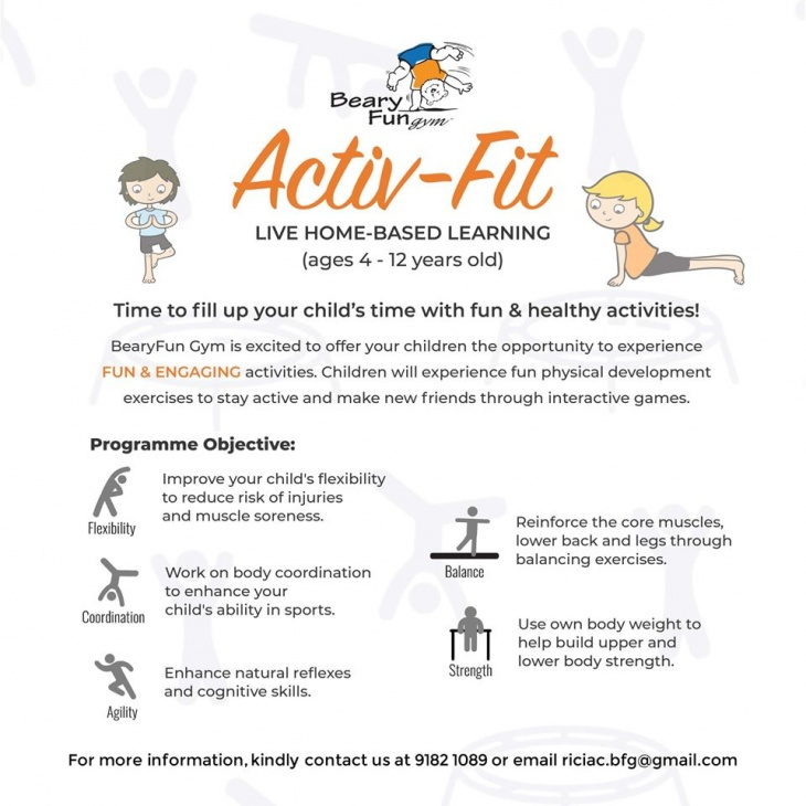 Activ-Fit Live Home-Based Learning with BearyFun Gym