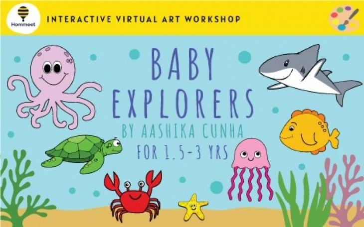 Virtual Art Workshop: Ocean Baby Explorers by Aashika