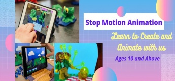Virtual STEAM Workshop - Stop Motion Animation