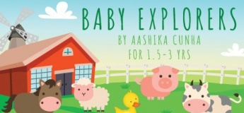 Virtual Art Workshop: Farm Baby Explorers by Aashika