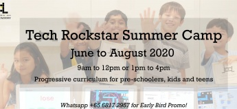 Tech Rockstar 2020 Summer Camp with Lccl Coding Academy