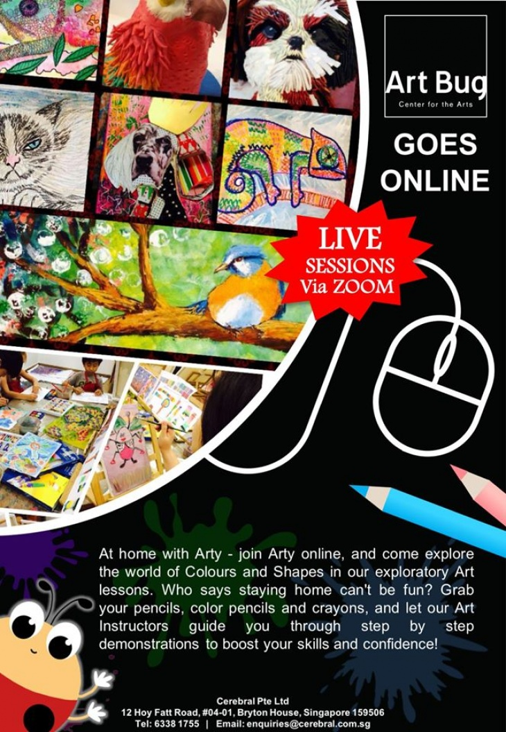 Art Bug Online Classes