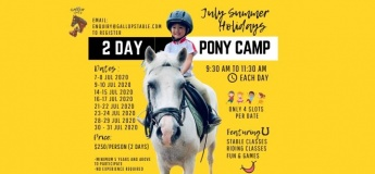 (FULL) 2 Day Pony Camp