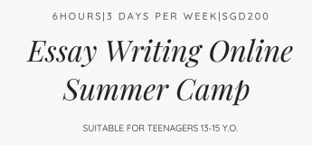Creative Essay Writing Online Summer Camp