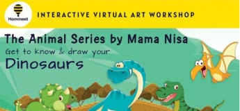 Virtual Interactive Art Workshop - The Animal Series by Nisa