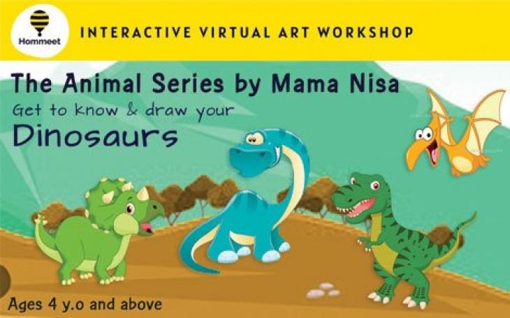 Virtual Interactive Art Workshop - The Animal Series by Nisa