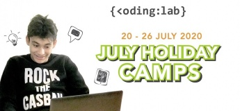 July Holiday Coding Camps 2020 with Coding Lab Singapore