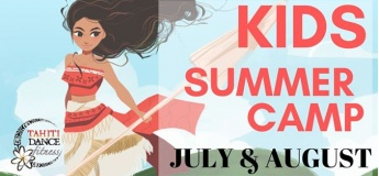 Kids Summer Camp with Tahiti Dance Fitness