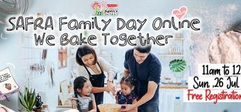 SAFRA Family Day Online Series @ We Bake Together