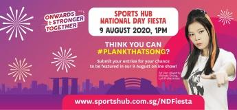Sports Hub National Day Fiesta 2020