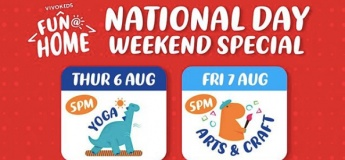 National Day Weekend Special with VivoKids by Vivo Kinetics