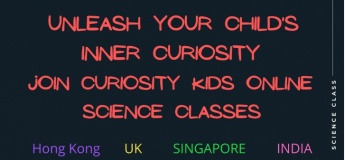 Online classes with Curiosity Kids Hong Kong