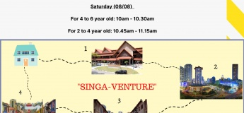 "FUNtastic Weekend: ""SINGA-VENTURE"""