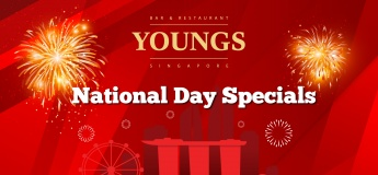 National Day Specials @ YOUNGS Bar & Restaurant