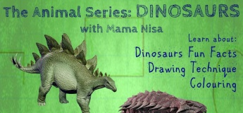 The Animal Series Dinosaurs by Nisa Mustika