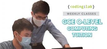 GCE 'O' Level Computing Tuition