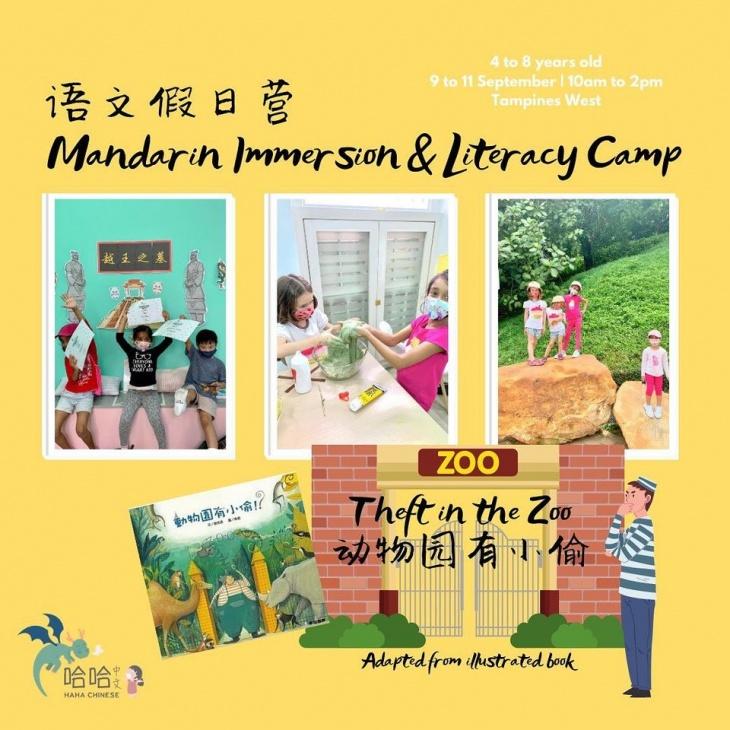 Mandarin Immersion & Literacy Camp