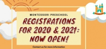 Camelot: Montessori Preschool Open House!