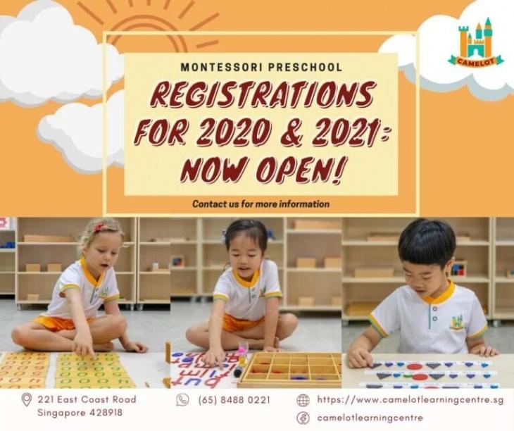 Camelot: Montessori Preschool Open House!
