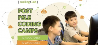 Post-PSLE and October Coding Camps @Coding Lab Singapore