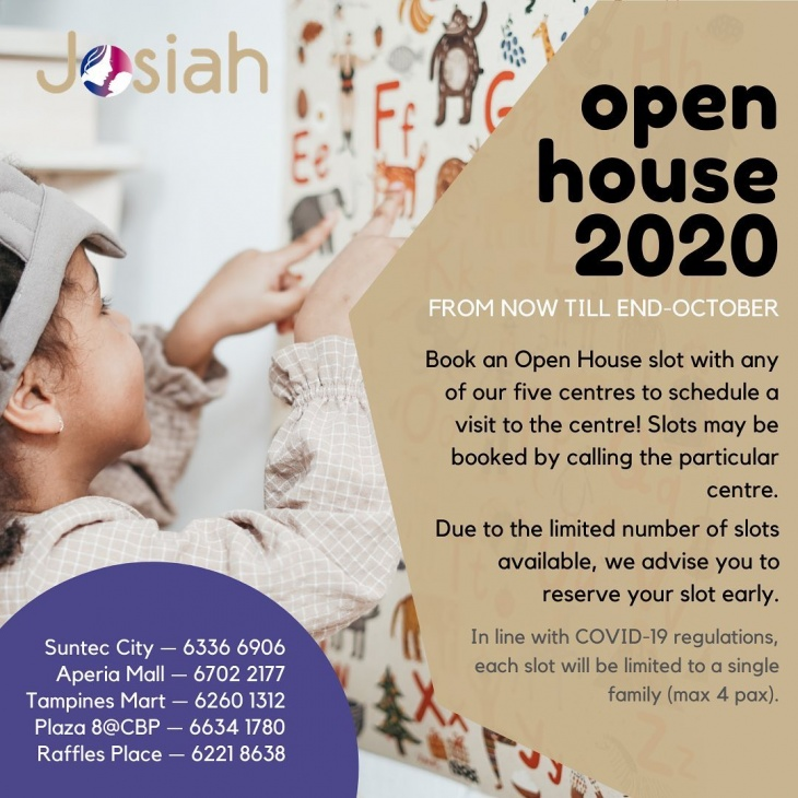 Open House 2020 @Josiah Montessori