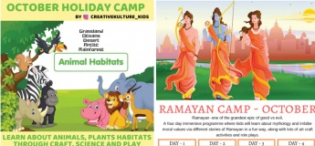 October Holiday Camps with Creative Kulture