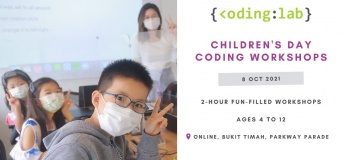 Children's Day Coding Workshops with Coding Lab Singapore