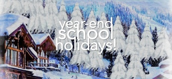 2020 Year-End School Holidays with ARTARY