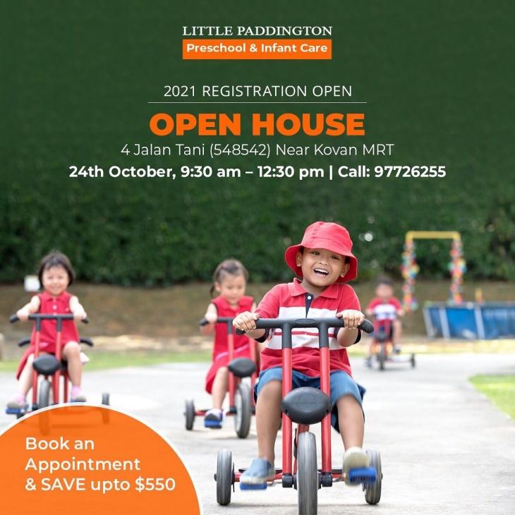Open House at Little Paddington Preschool @ Jalan Tani