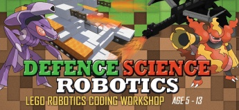 Defence Science Lego Robotics Coding Workshop