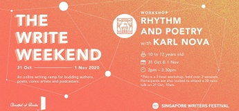 The Write Weekend: [Workshop] Rhythm and Poetry + [Talk] Beyond the Book