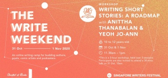 The Write Weekend: [Workshop] Writing Short Stories: A Roadmap + [Talk] Beyond the Book