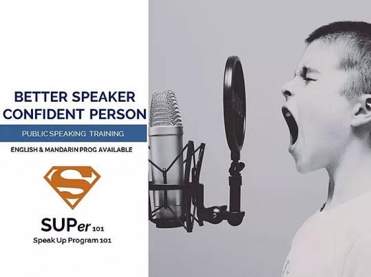 Public Speaking Training Programme @WEISLIN Education Enterprise