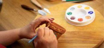Colours in Bloom: Rangoli-Inspired Terracotta Pots Workshop