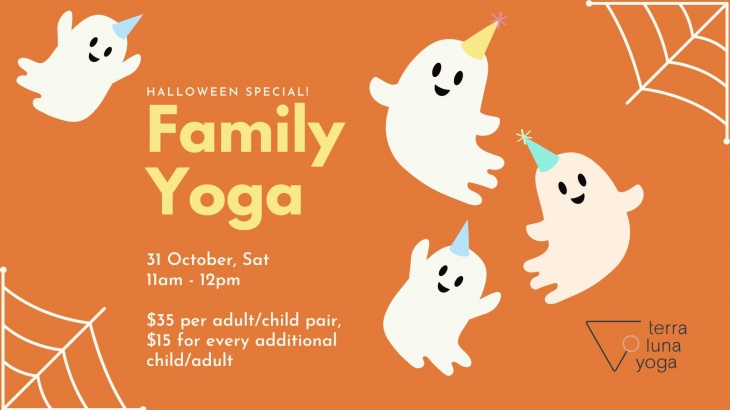Family Yoga Halloween Special!