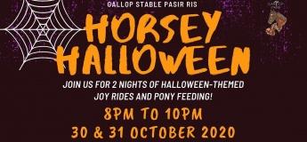 Horsey Halloween Fun @Gallop Stable