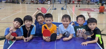[FULLY REGISTERED] November and December Holidays Table Tennis Camp with Singapore Table Tennis Association