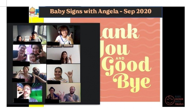 Baby Signs Nov Course on Tuesdays