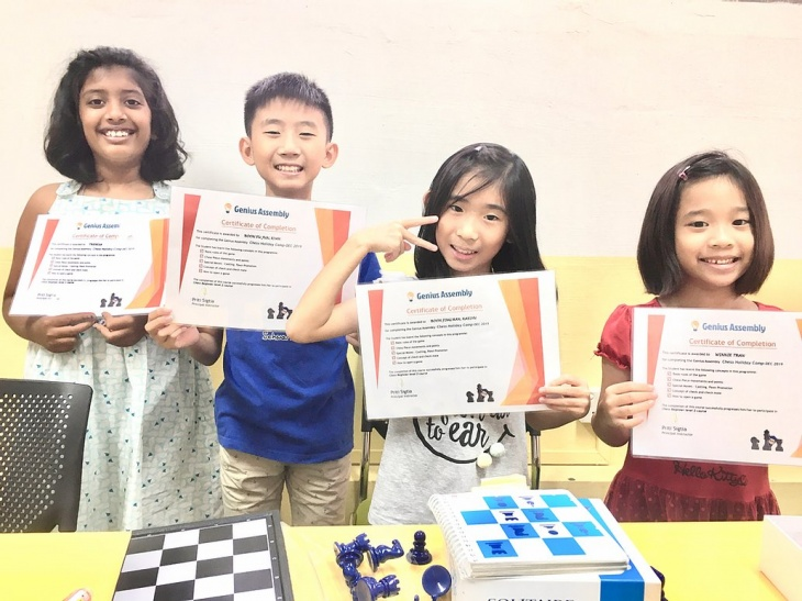 Chess Holiday Camps 2020 @Genius Assembly