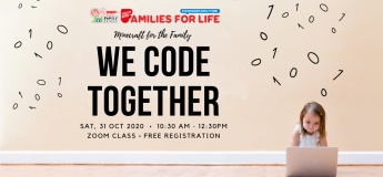 SAFRA Family Day Online @ We Code Together