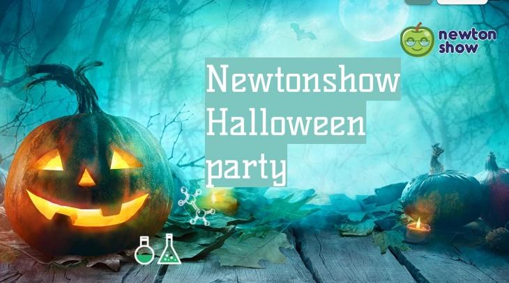 Newton Show Halloween Party
