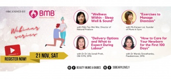 Mrs Beautiful Bump 2020 - Webinar Series Part 2 - 21 November