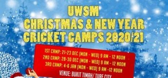 UWSM Christmas & New Year Basic & Advanced Cricket Camps 2020/21