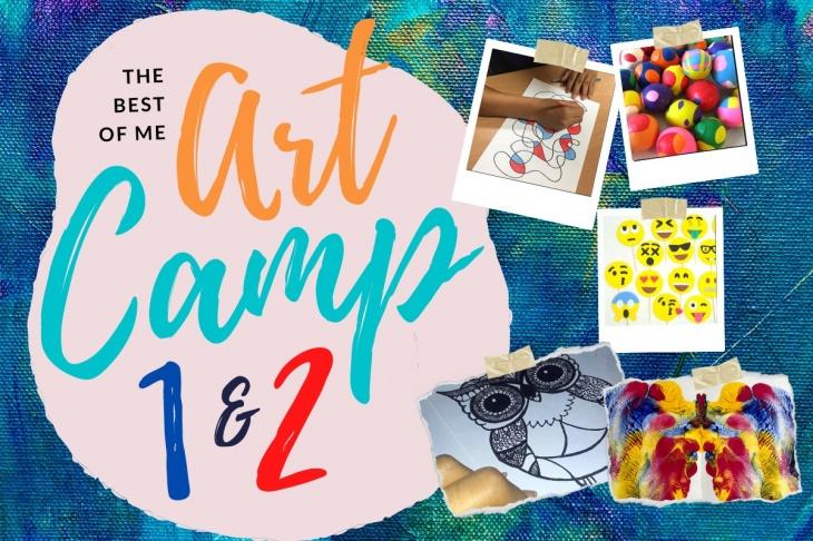 Best of Me 2-Day Art Camp – Part 1 & Part 2
