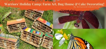 Warrior's Holiday Camp - Farm Art and Cake Decorating