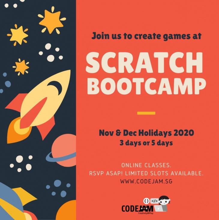 Scratch Bootcamp @Code.JAM